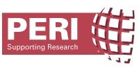 Programa para apoyar la información científica, PERI