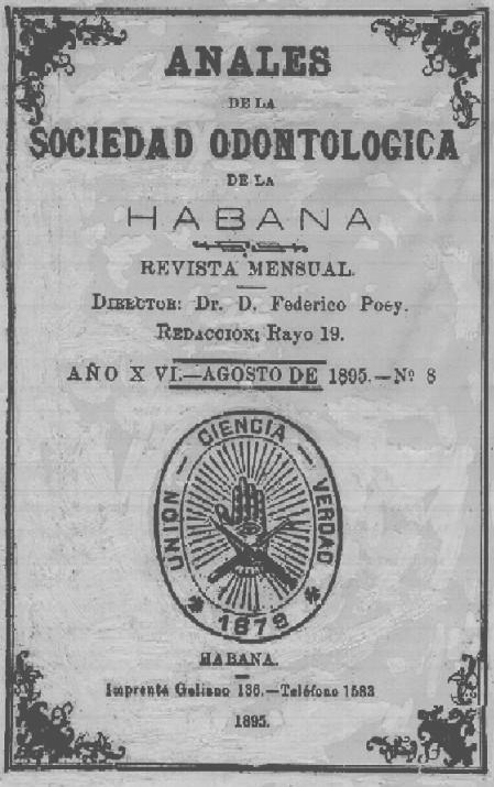 Primera revista de Estomatología