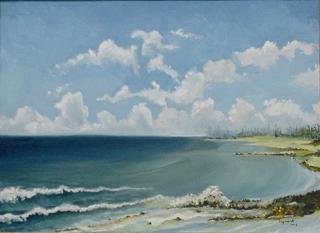 paisaje marino, de Manuel Izquierdo