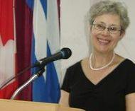 La Dra. Dean recibió la categoría docente de Profesora Invitada del Instituto Superior de Ciencias Médicas de La Habana