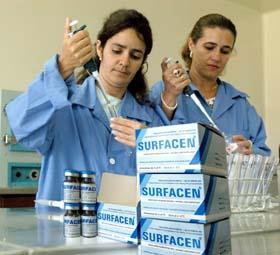 Producción del Surfacen cubre las necesidades del país
