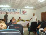 El profesor Cristóbal Martínez mientras impartía una amena e instructiva conferencia acerca de la Inteligencia emocional