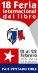 Logo de la 18 Feria Internacional del Libro Cuba 2009