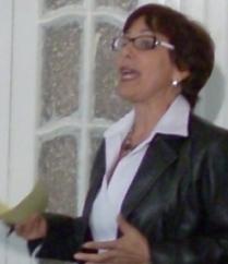 Licenciada Maité Abreu García, coordinadora del grupo Cencomed