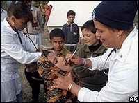Médicos cubanos en Paquistán