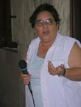 Dra. Mirta Núñez, webmaster de Infomed