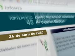 Spot sobre el 45 aniversario del CNICM