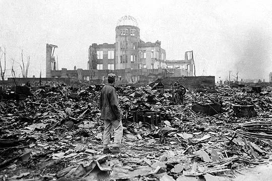 Destrucción Bibliotecas Hiroshima