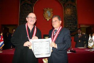 Silvio Rodríguez. Honoris Causa