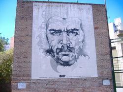 Mural de Ricardo Carpani. Rosario.Argentina