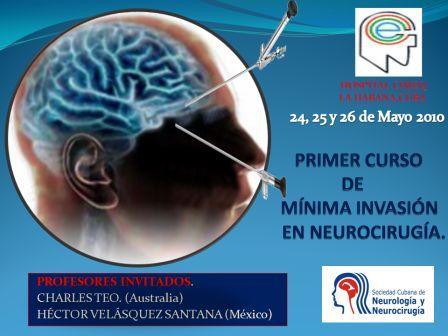 Primer Curso de Mínima  Invasión en Neurocirugía