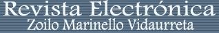 Revista electrónica Zilo Marinello Vidaurreta