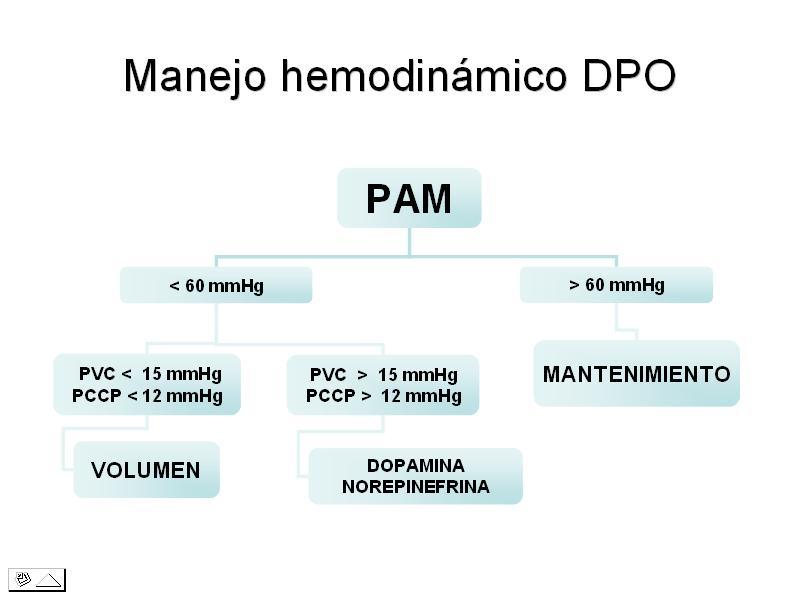 Algoritmo hemodinamia