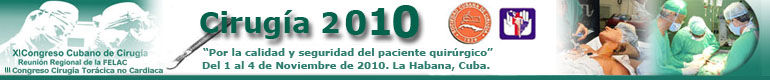 XI Congreso Cirugía 2010