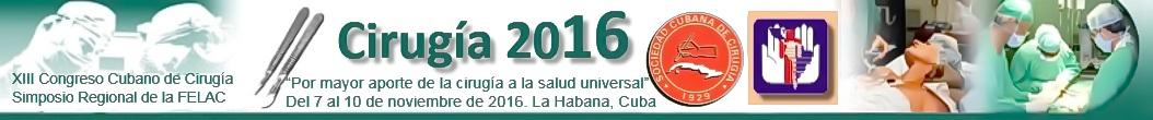 XIII Congreso Cubano Cirugía 2016