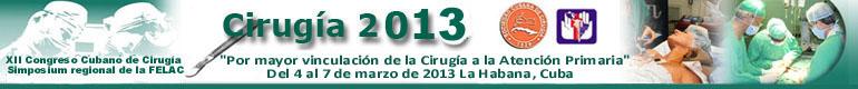 XII Congreso Cirugía 2013