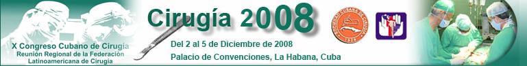 X Congreso Cirugía 2008