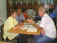 La MSc Ileana Alfonso expone detalles acerca del curso de técnica informática
