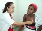 Foto tomada del sitio web de la Misión médica en Haití